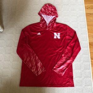 adidas Custom University of Nebraska Hoodie